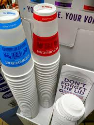 robert dyer bethesda row vote with your coffee cup at 7 eleven