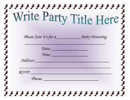 party invitation template word stephenanuno com