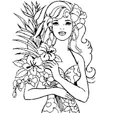 coloriage barbie super princesse