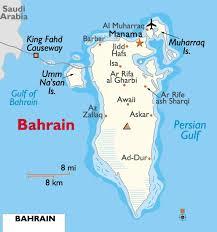 map of bahrain bahrain
