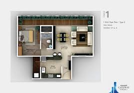 1 bhk floor plan premium property in hadapsar pune for sale gateway towers