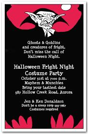 vampire scare halloween invitations halloween party invitations