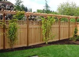 wood fence ideas cheap paint color design by wood fence ideas