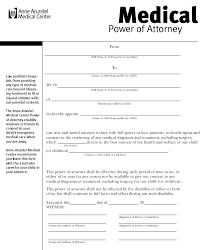 Medical Power Of Attorney Child by Harvard Law Resume