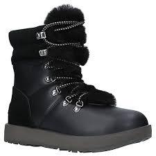 s ugg australia black adirondack boots schuh ugg boots ugg slippers lewis
