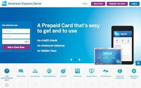 serve prepaid card american express serve card million mile secrets