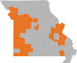 Map Of Missouri Cities Map Of Natural Gas Service Areas By County Spire Inc