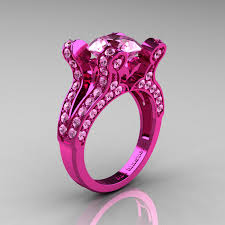 pink camo wedding rings pink wedding rings rikof