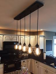 Best Pendant Lights For Kitchen Island Nice Rustic Kitchen Island Light Fixtures 25 Best Ideas About