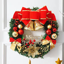 christmas decorations door hanging wreath tree wall hanging decor