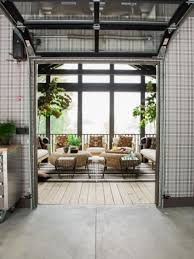 Garage With Screened Porch 26 Glass Garage Door Ideas To Rock In Your Interiors Digsdigs