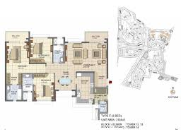 Lakeside Floor Plan Prestige Lakeside Habitat Location Price Reviews Bangalore
