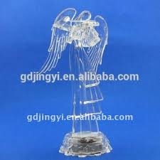 Christmas Decorations Wholesale Dublin by Acrylic Led Transparent Angel Play The Violin Wholesale Outdoor