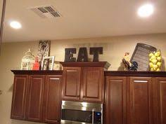 ideas for tops of kitchen cabinets above kitchen cabinets decor awesome kitchen