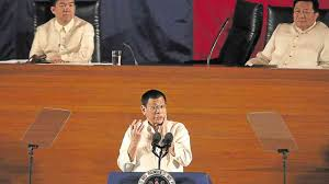 State Of The Union Cabinet Member Not Attending Full Text President Duterte U0027s First State Of The Nation Address