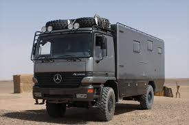 mercedes 4x4 trucks mercedes actros 4x4 expedition truck conversion expedition truck