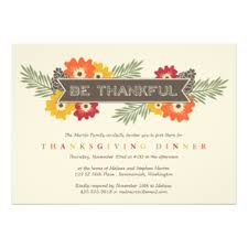 thanksgiving invitations zazzle