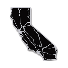 California State Map by California Acrylic Cutout State Map Modern Crowd Touch Of