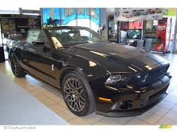Ford Mustang Shelby Gt500 Black 2014 Black Ford Mustang Shelby Gt500 Svt Performance Package