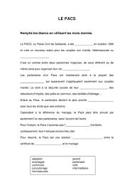 mariage pacs le pacs et le mariage en by anon32325100414735236