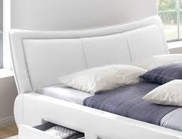 Schlafzimmer Mit Polsterbett Polsterbett Lando Bett 180x200 Cm Weiß Mit Lattenrost Und Matratze