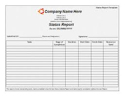 monthly report template free printable word templates