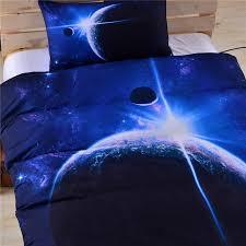 beddingoutlet galaxy bed set earth moon print gorgeous unique