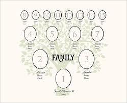 4 generation family tree template u2013 12 free sample example
