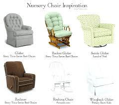 Rocking Recliner Chair For Nursery Glider Recliner Nursery Chair Chir Brnds Reclers Nd Habebe Glider