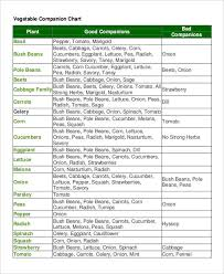 companion planting chart for vegetables companion planting yates