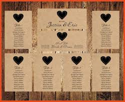 wedding seating chart template wedding seating chart template sop format exle