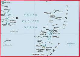 tonga map earthquake and tsunami of may 3 2006 in tonga dr george