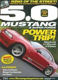 5 0 mustang magazine 5 0 mustang magazine subscription