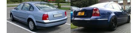volkswagen passat rear b5 and b5 5 passat facelifts u2013 modded euros blog