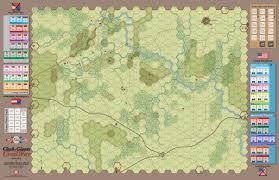 Battle Of Gettysburg Map Acw Clash Of Giants Civil War