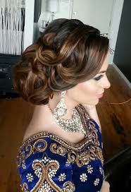 indian bridal hairstyle best 25 indian wedding hair ideas on pinterest indian wedding
