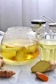 cuisiner avec une bouilloire simple comme une infusion gingembre curcuma avec la bouilloire