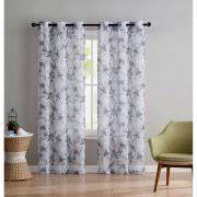 floral print curtains