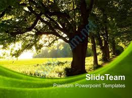 nature pics powerpoint templates green environment process ppt