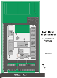 Elac Campus Map Map Of Tohs Map