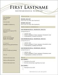 free template resume free resume format downloads resume template ideas