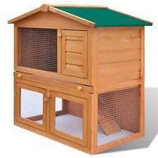 Rabbit Hutch For Multiple Rabbits Rabbit Hutch Small Animal Supplies Ebay