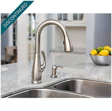 Touch Free Faucet Kitchen Stainless Steel Selia Touch Free Pull Kitchen Faucet With