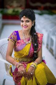 indian hairstyles engagement hairstyle for engagement in south india best hairstyle photos on