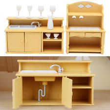 dollhouse furniture kitchen dollhouse kitchen set ebay