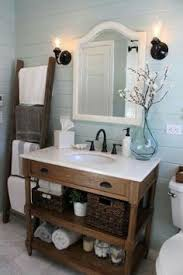 Rustic Bathroom Vanity by Joanna Gaines Home Decor Inspiration Joanna Gaines Inspiration