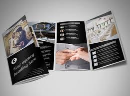 wedding videographer wedding service brochure template mycreativeshop