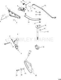 linkage manual bigfoot mercury oem parts iboats com
