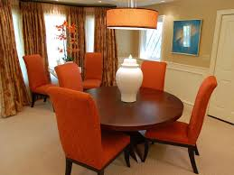 Burnt Orange Leather Dining Chairs Dining Chairs Design Ideas - Burnt orange dining room