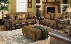 Leather And Upholstered Sofa Inspiration Ideas Leather And Fabric Sofa And Fabric Sofas